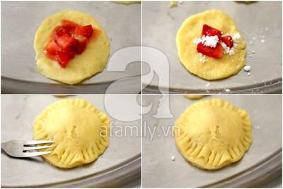 Bánh Pie dâu tây chua ngọt thử là yêu 16
