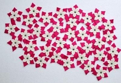 Tự chế quả cầu hoa xinh lung linh đón năm mới 9