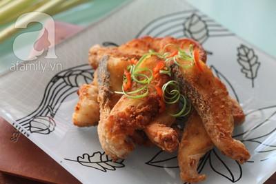 Cay thơm giòn rụm món cá chiên sả ớt 12