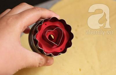 Bánh quy kẹp chocolate ngon đẹp cho dịp Valentine 11