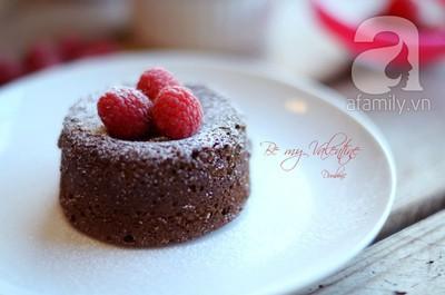 Bánh núi lửa cực lãng mạn cho ngày Valentine 18