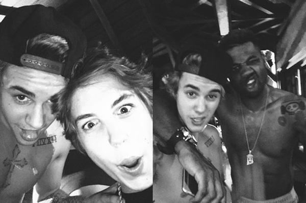 Justin Bieber cởi trần mừng sinh nhật bên bạn gái tin đồn 6