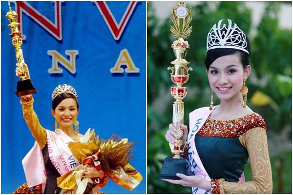 Thùy Lâm - Hoa hậu Hoàn vũ 2008