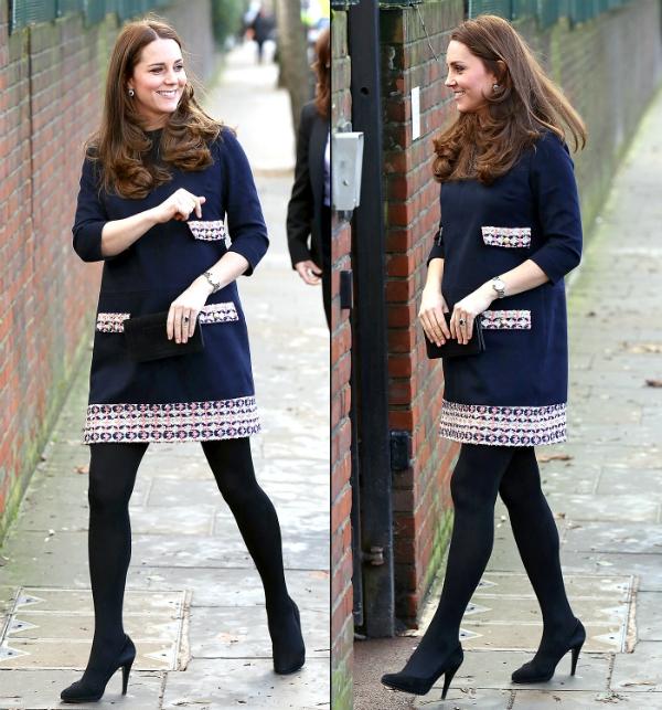 công nương Kate sinh em bé