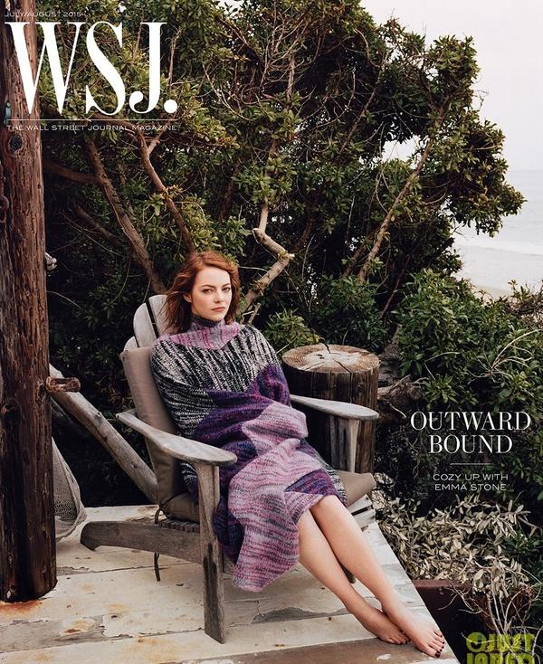 Emma Stone chia sẻ trên tạp chí về đời tư