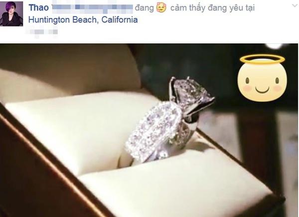 Thanh Thảo được cầu hôn