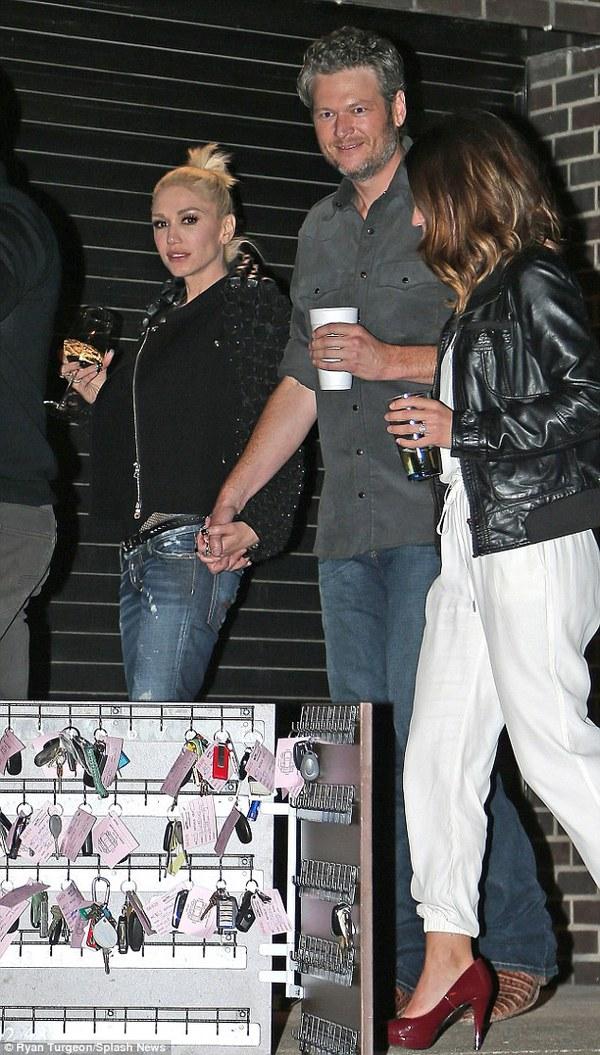 Gwen Stefani và Blake Shelton