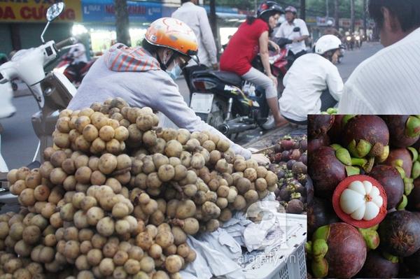 """TP.HCM: Giá trái cây bình dân đắt gấp 3 lần trái cây """"quý tộc"""" 1"""