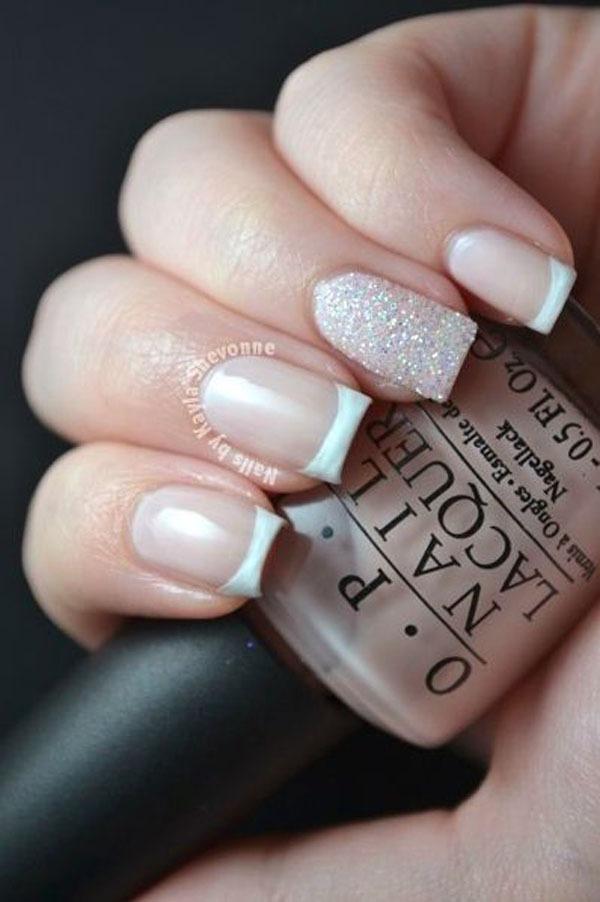 Gợi ý màu nail cho cô dâu mùa hè 11