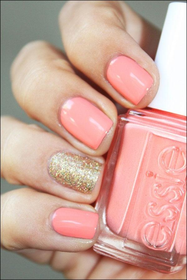 Gợi ý màu nail cho cô dâu mùa hè 6