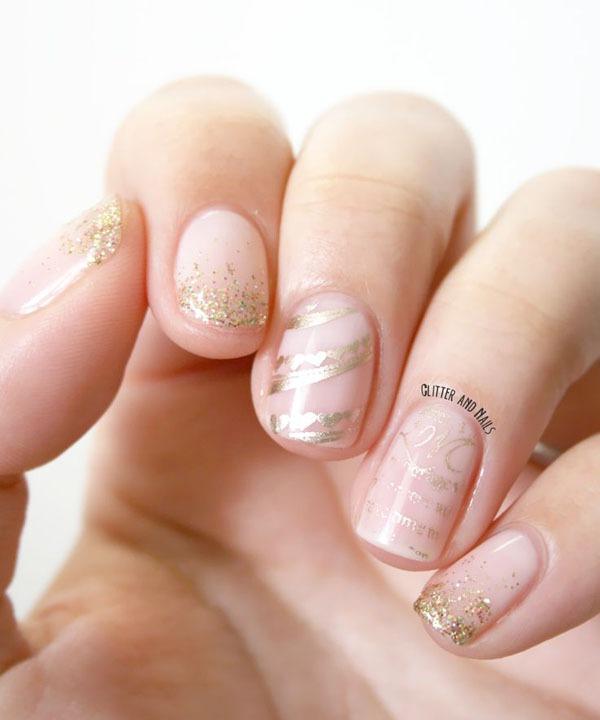 Gợi ý màu nail cho cô dâu mùa hè 12