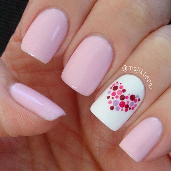 Gợi ý màu nail cho cô dâu mùa hè 7