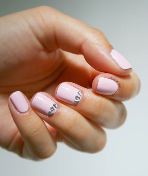 Gợi ý màu nail cho cô dâu mùa hè 14
