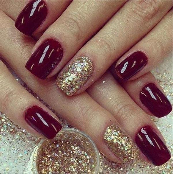 Gợi ý màu nail cho cô dâu mùa hè 17