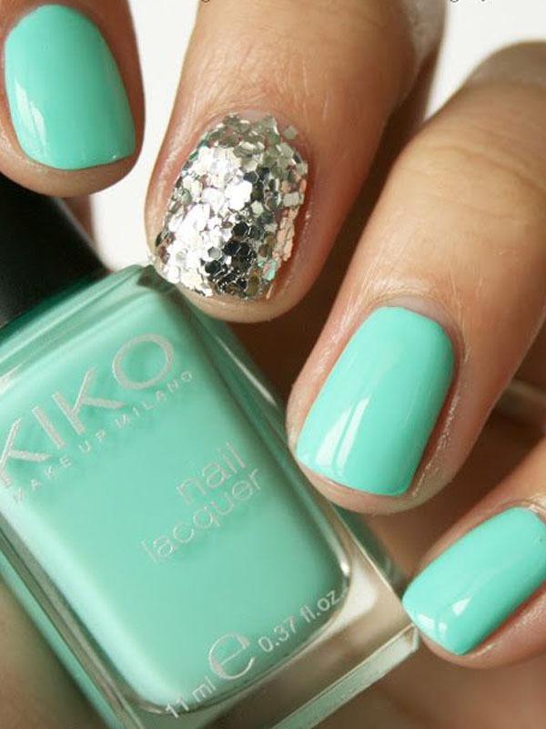 Gợi ý màu nail cho cô dâu mùa hè 9