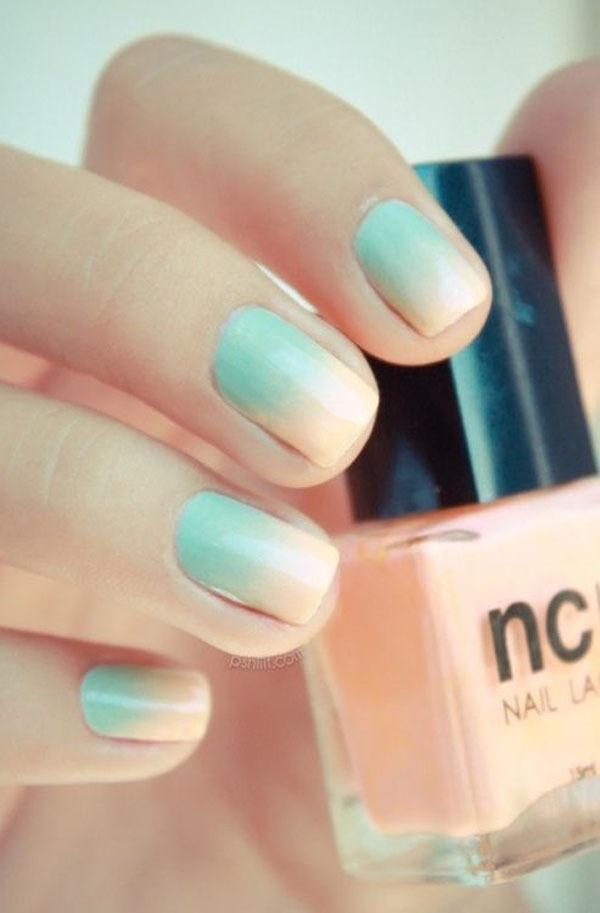 Gợi ý màu nail cho cô dâu mùa hè 10