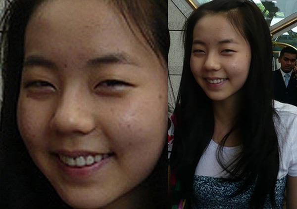 Soi da xấu-đẹp của kiều nữ Hàn khi để mặt mộc 35