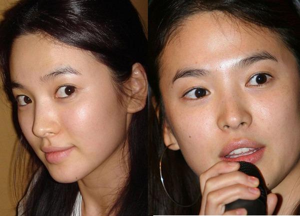 Soi da xấu-đẹp của kiều nữ Hàn khi để mặt mộc 11
