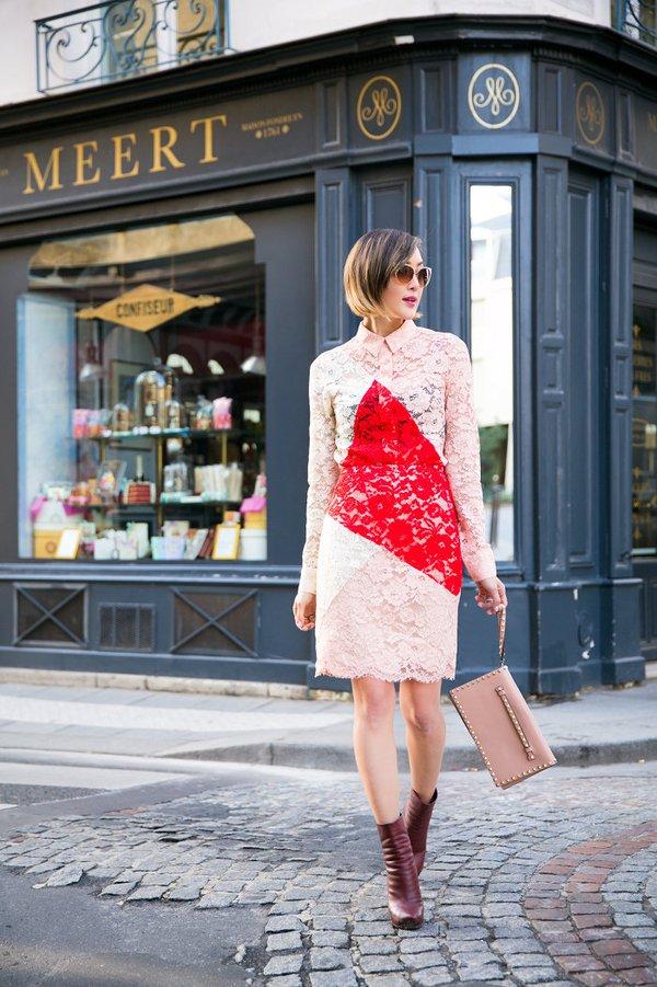 Gợi ý váy ôm thanh lịch cho nàng công sở tinh tế 13