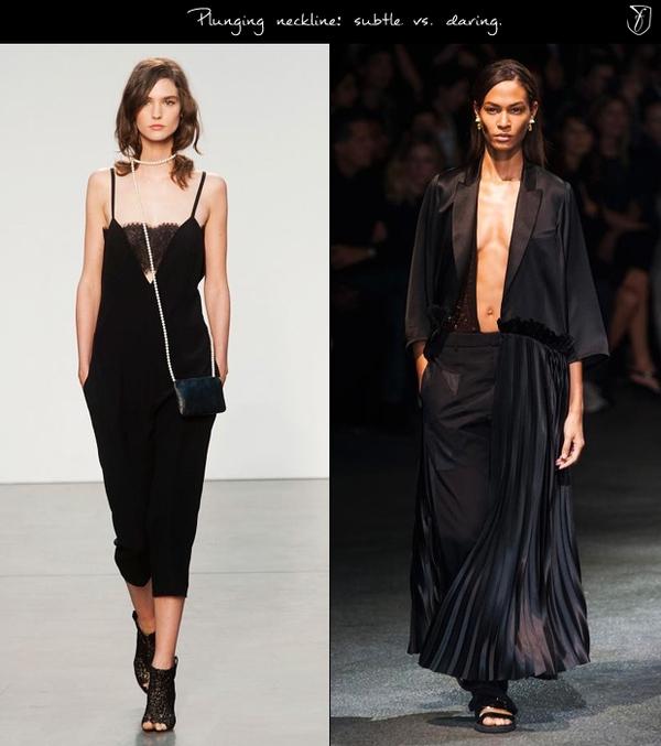 7 xu hướng áo xẻ ngực phái đẹp cần cập nhật cho Hè 2014 2