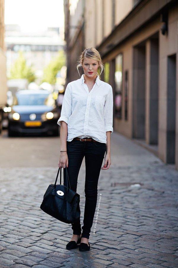 7 bí quyết giúp F5 quần jeans cho set đồ công sở 5