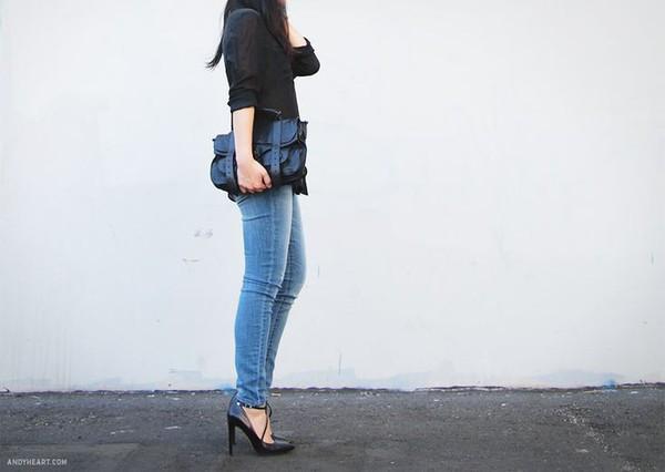 7 bí quyết giúp F5 quần jeans cho set đồ công sở 8