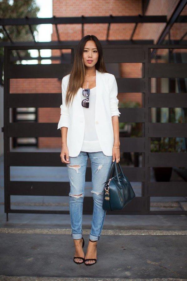 7 bí quyết giúp F5 quần jeans cho set đồ công sở 14