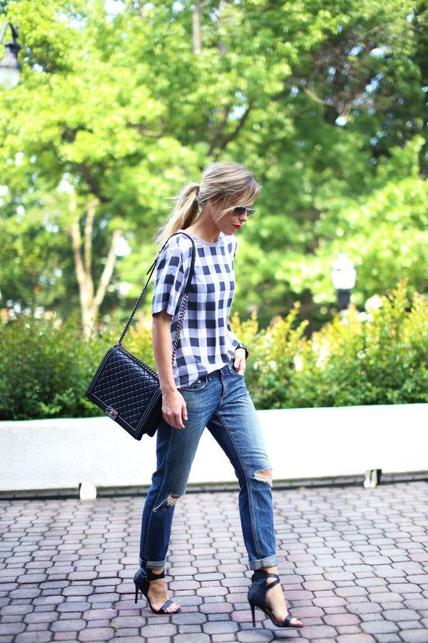 7 bí quyết giúp F5 quần jeans cho set đồ công sở 3