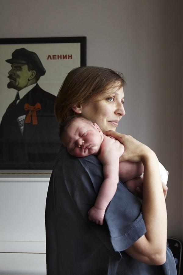 Bộ ảnh 24 giờ làm mẹ đầu tiên trong cuộc đời 1