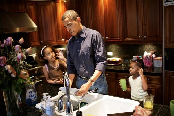 """""""Công việc tổng thống đã biến tôi trở thành một ông bố tốt như thế nào?"""""""