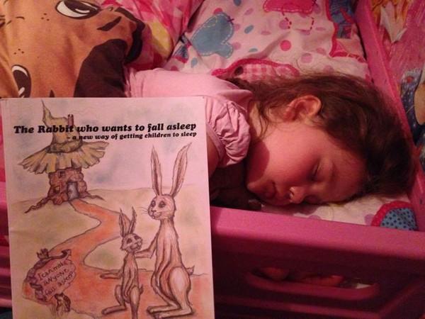 Cuốn sách dỗ trẻ ngủ trong vài phút khiến các mẹ Tây