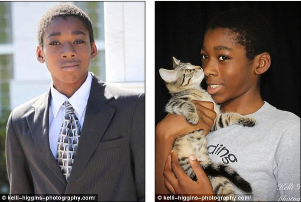 Bộ ảnh sơ sinh đầy xúc động của cậu bé 13 tuổi