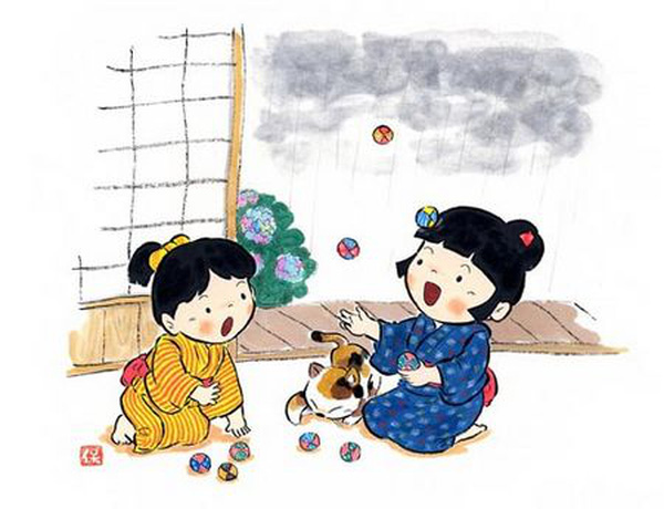Những trò chơi truyền thống khiến trẻ em Nhật Bản mê mẩn