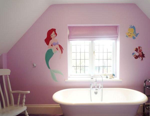 Trang trí phòng tắm đầy màu sắc vui nhộn cho bé 6
