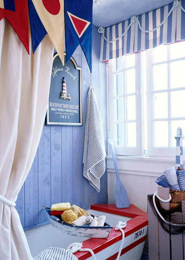 Trang trí phòng tắm đầy màu sắc vui nhộn cho bé 7