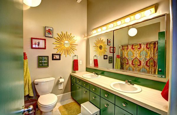 Trang trí phòng tắm đầy màu sắc vui nhộn cho bé 10