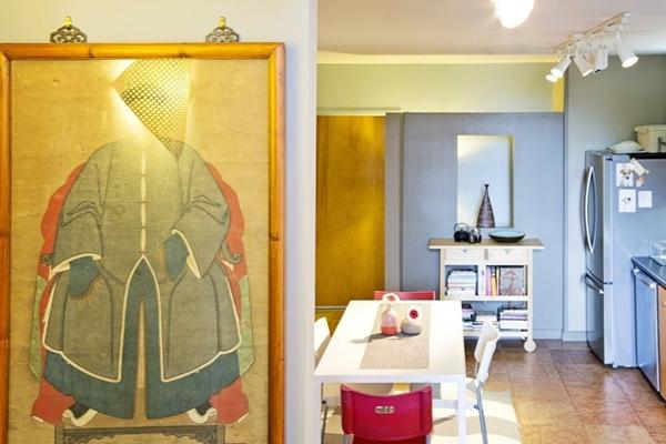 Ngắm căn hộ hiện đại với đồ trang trí đậm nét Á Đông 6