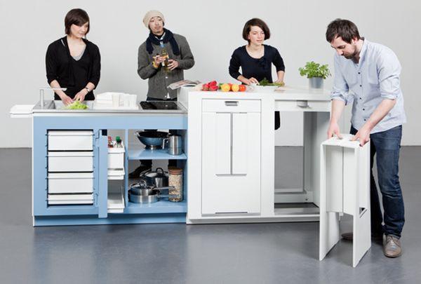 Thích thú với 5 mẫu bếp dài không quá một sải tay 11