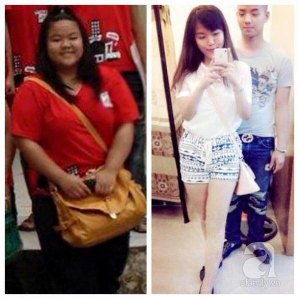 Minh Châu của những ngày còn 101 kg và hiện tại