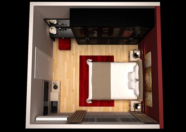Tư vấn thiết kế cho phòng ngủ nhỏ 13m² ở phố cổ đẹp lung linh 2