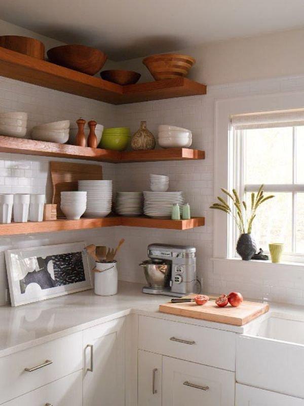 Nhà bếp phong cách với hệ thống kệ mở 10