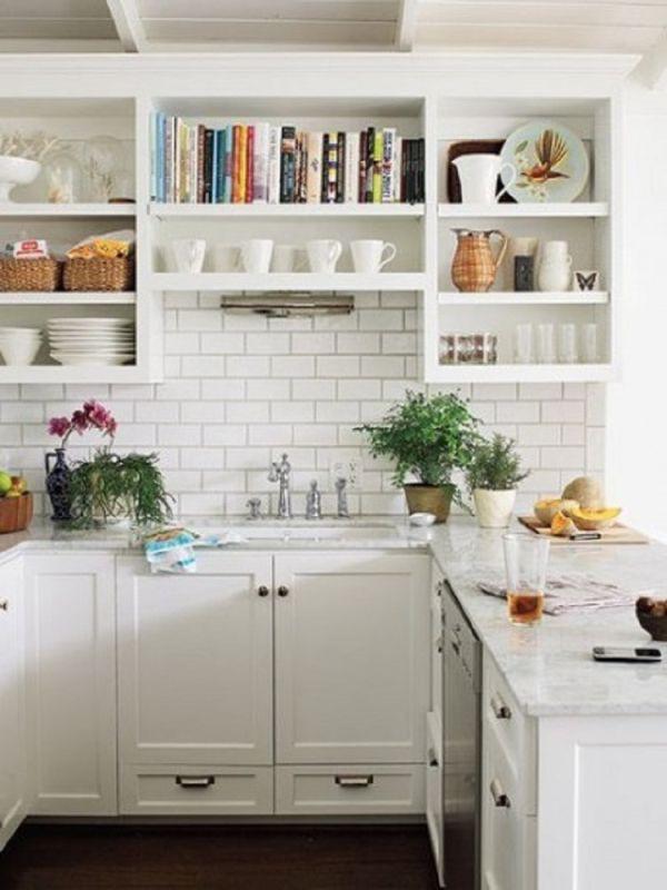 Nhà bếp phong cách với hệ thống kệ mở 3