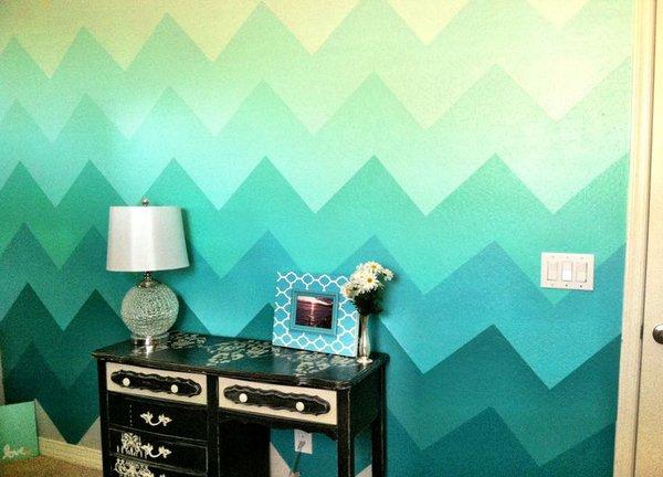 5 ý tưởng sơn tường để có mảng trang trí tuyệt vời 11