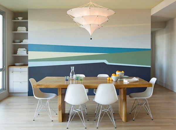 5 ý tưởng sơn tường để có mảng trang trí tuyệt vời 5