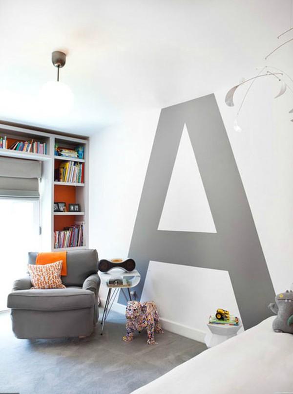 5 ý tưởng sơn tường để có mảng trang trí tuyệt vời 6