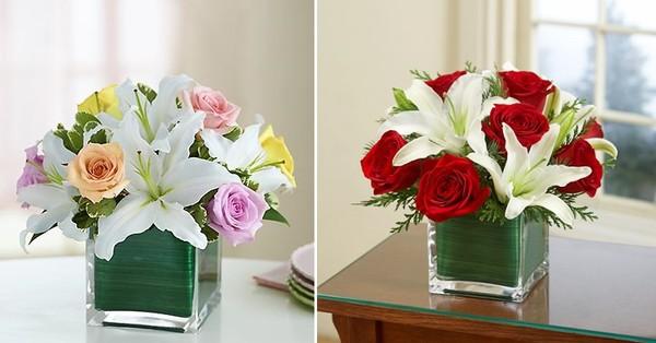 5 cách cắm hoa ly trang trí nhà tuyệt đẹp 3