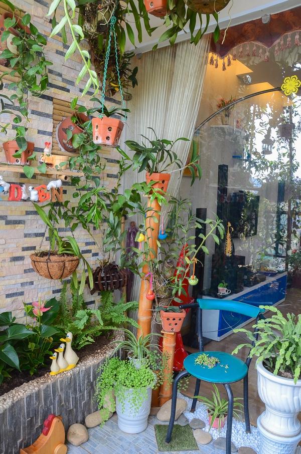 Ngắm căn hộ có góc vườn truyền cảm hứng cho cả khu chung cư ở Hà Nội 7