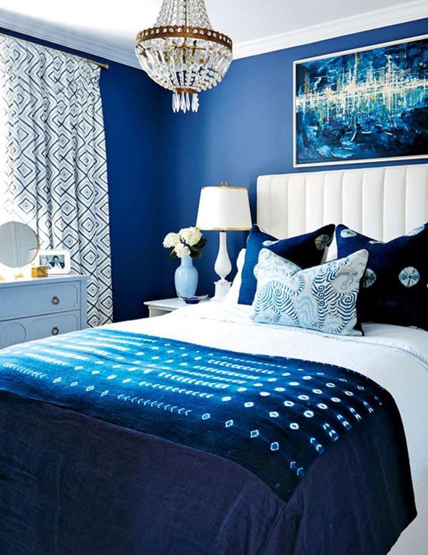 Kết quả hình ảnh cho phòng ngủ xanh xẫm