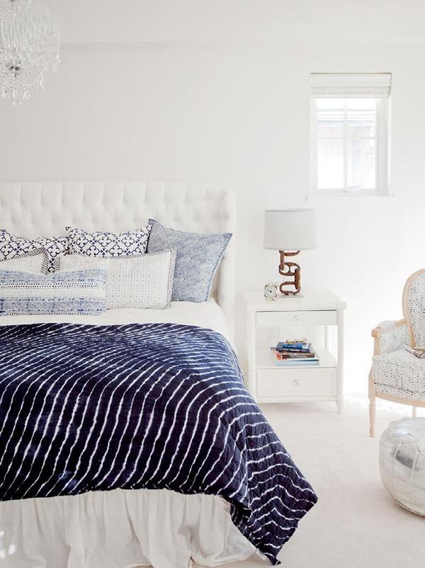 11 mẫu phòng ngủ dành riêng cho tín đồ màu xanh  11