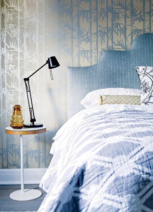11 mẫu phòng ngủ dành riêng cho tín đồ màu xanh  10
